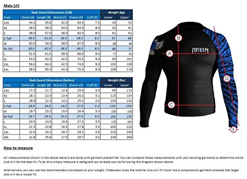 Raven Fightwear Men's Black Dragon Long Sleeve BJJ MMA Rash Guard