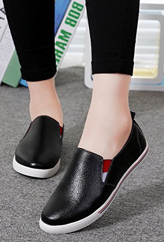 Femme Loafers à Enfiler Aisun Décontracté Sneakers xwq6fx0aT