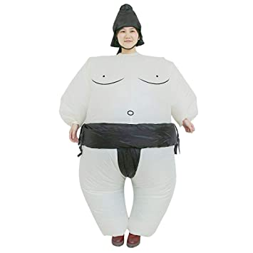 Nrpfell Traje Inflable De Sumo Ropa Inflable Samurai Sumo ...