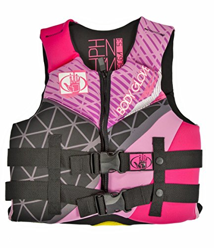 Body Glove Wetsuit Co Phantom Neoprene US Coast Guard Approved PFD Life Jacket