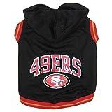 San Francisco 49ers Pet Hoodie Sweatshirt - X-Small