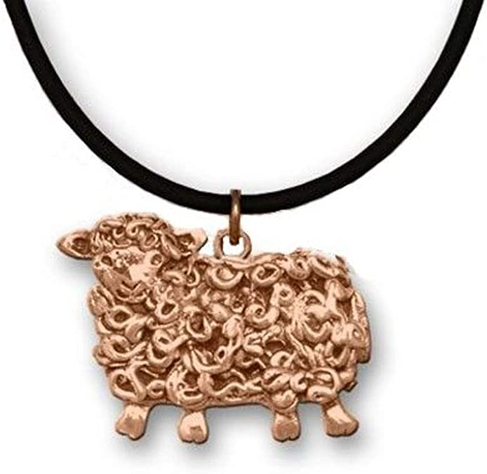 Bronze Hippo Large Necklace by The Magic Zoo