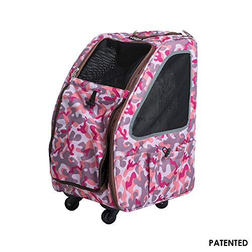 Petique Pet Stroller, Pink Camo, One Size