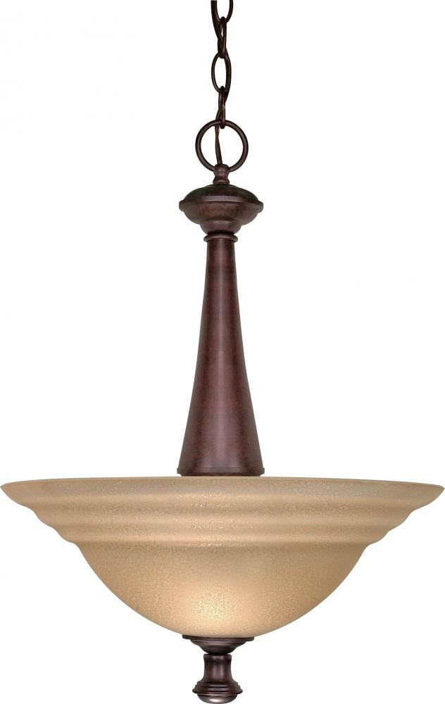 Nuvo Lighting 60//102 Two Light Flush Mount Bronze//Dark