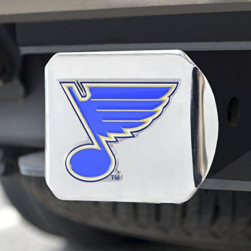 FANMATS NHL St. Louis Blues NHL - St. Louis Bluescolor Hitch - Chrome, Team Color, One Size