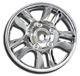 chrysler sebring chrome hubcaps - TuningPros WSC-006C15 Chrome Hubcaps Wheel Skin Cover 15-Inches Silver Set of 4
