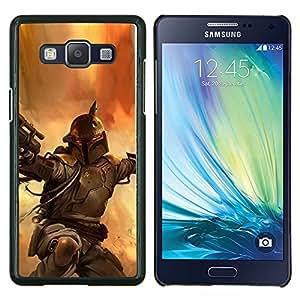 Qstar Arte & diseño plástico duro Fundas Cover Cubre Hard Case Cover para Samsung Galaxy A5 A5000 (Bobba Fett - Bounty Hunter)