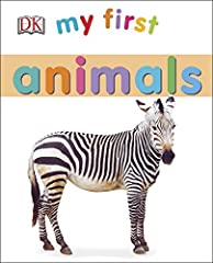 Teach your preschool child numbers and encourage learning while reading and having fun together with your My First: Animals board book, designed to be a toddler favorite and withstand wear and tear from a preschooler. My First: Animals uses p...