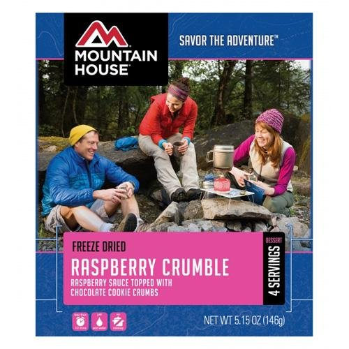 Mountain House Raspberry Crumble Freeze Dried