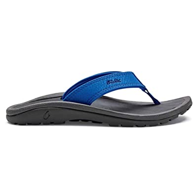 eb8451ca7222 OLUKAI Ohana Slipper - Boy s Aqua Blue Dark Shadow ...