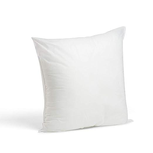 2 Rellenos cojines sofa hipoalergénicas para funda cojines decoracion y para almohadas de cama (45x45)