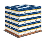 Hammermill Printer Paper, Fore Multipurpose, 8.5 x 11, Letter, 20lb, 96 bright, 5000 Sheets per Carton - 40 Cartons per Pallet, 200,000 Sheets (103267PLT) Pallet Pricing, Made In The USA