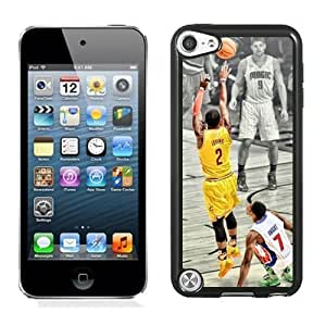 Personalized Ipod Touch 5 Case,Easy Use Ipod 5th Case Design with Kyrie Irving Cell Phone Case for Ipod Touch 5 5th Generation in Black