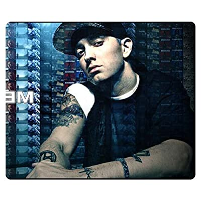 26x21cm 10x8inch personal Mouse Mat precise cloth - natural rubber Anti-friction Excellent for All Mouse Types Eminem