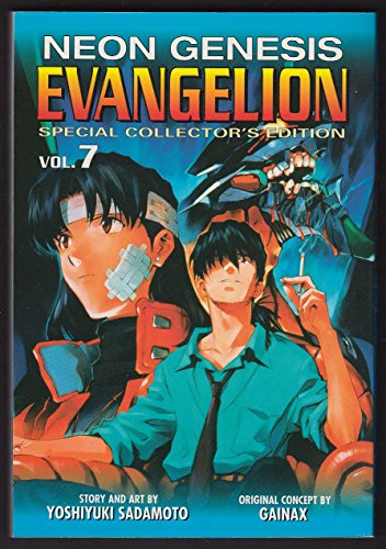 Neon Genesis Evangelion 7 Collector's Edition manga comic book 1st printing 2003 from The Jumping Frog