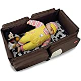 Best Deals - Travel Bed and Diaper Bag for Baby (Brown)