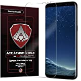 galaxy ace screen replacement - Ace Armor Shield ProTek Guard (2 PACK) CASE FRIENDLY Screen Protector for the Samsung Galaxy S8 + Plus with free lifetime Replacement warranty