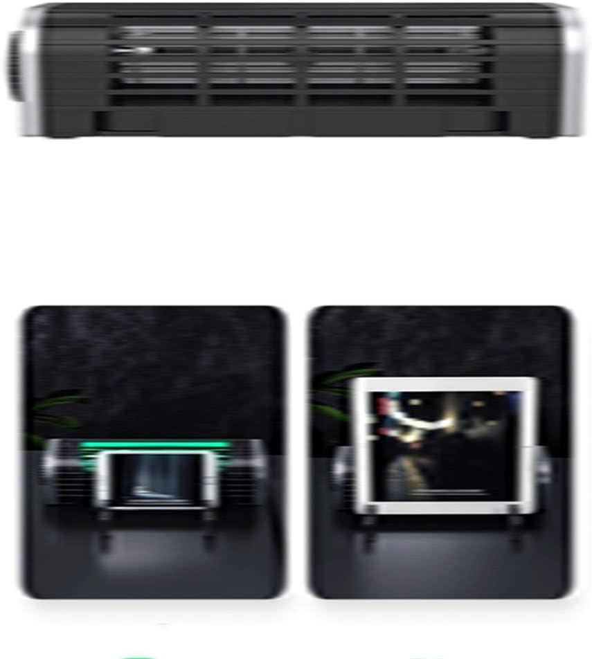 KOUPA Laptop Cooling Pad for Laptop Pad Tablet Phone 3-Speed Adjustable USB Multi Function Laptop Cross-Flow Turbine Cooling Fan