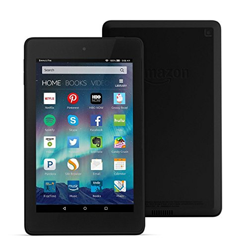 """Fire HD 6 Tablet, 6"""" HD Display, Wi-Fi, 16 GB - Includes Special Offers, Black (Previous Generation - 4th) by..."""