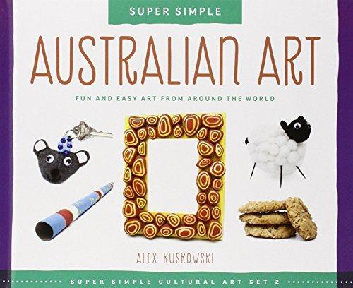 Sand Art Toys Alex - Australian Art: Fun and Easy Art from Around the World (Super Sandcastle: Super Simple Cultural Art; Set 2) by Alex Kuskowski (2014-09-01)