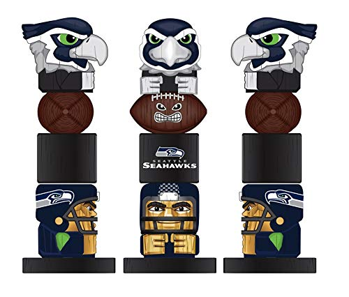 Team Sports America NFL San Francisco 49ers 12 Inch Tiki Totem
