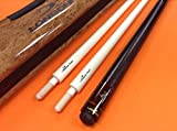 LONGONI CAROM CUE CARLSEN PRO2 + SHAFTS & PATENTED CASE ( special edition).