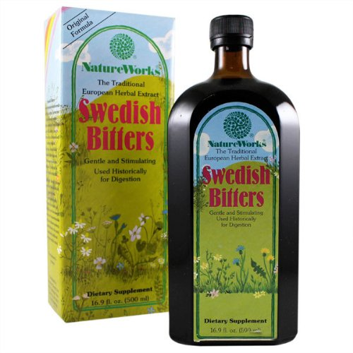 Sweetish Bitters - Nature Works Swedish Bitters, 16.9 Fluid Ounce