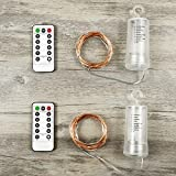 Asmader Fairy Lights Multi Color Change Remote