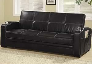 Amazon Com Coaster Home Furnishings Futon Sofa Bed With