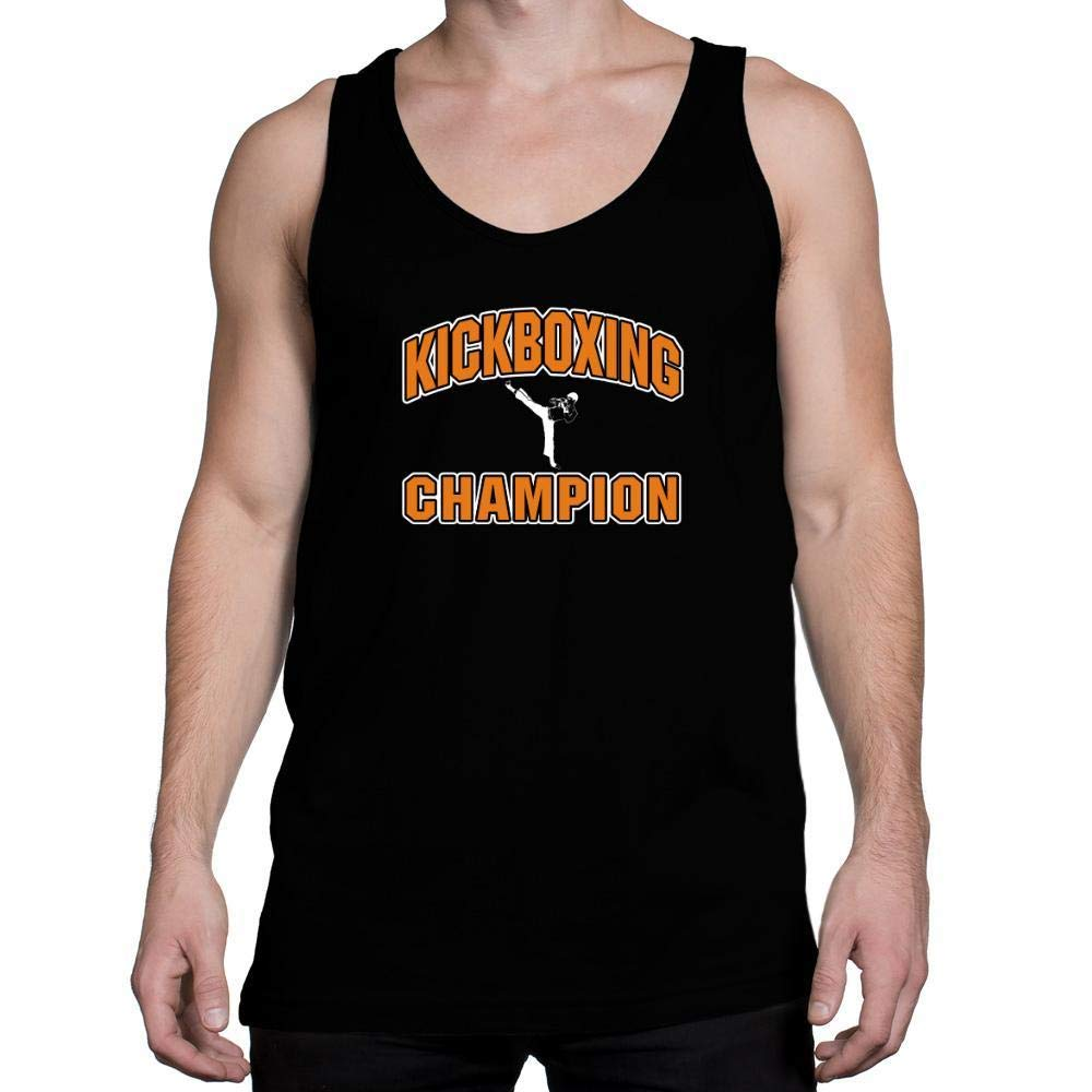Idakoos Kickboxing Champion Tank Top