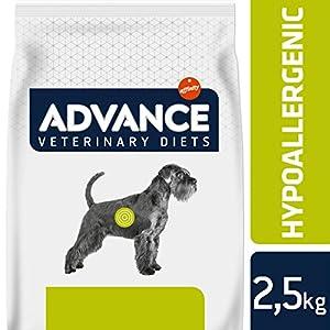 Avance Veterinary Diets Hypoallergenic – Pienso hipoalergénico para Perros con intolerancias alimentarias – 2.5 kg