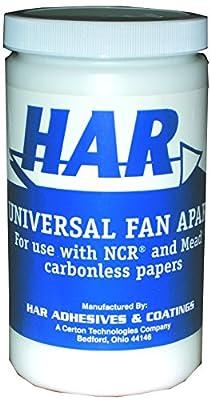 HAR Universal NCR Fan Apart Carbonless Paper Adhesive - Gallon