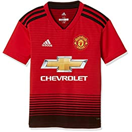 adidas Manchester United Domicile - Short de Football - Garçon