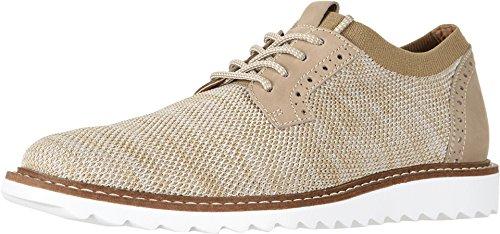 (G.H. Bass & Co. Mens Dirty Buck 2.0 Plain Toe Knit Oatmeal Oxford - 9.5)