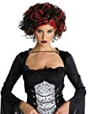 WICKED WIDOW WIG BLACK RED
