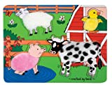 : Melissa & Doug Fuzzy Farm Puzzle