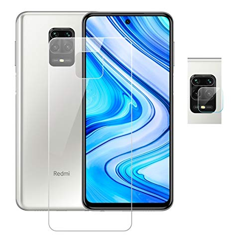 Redmi Note 9 Pro Max Screen Protector (9H) Including Front| and rear camera guard