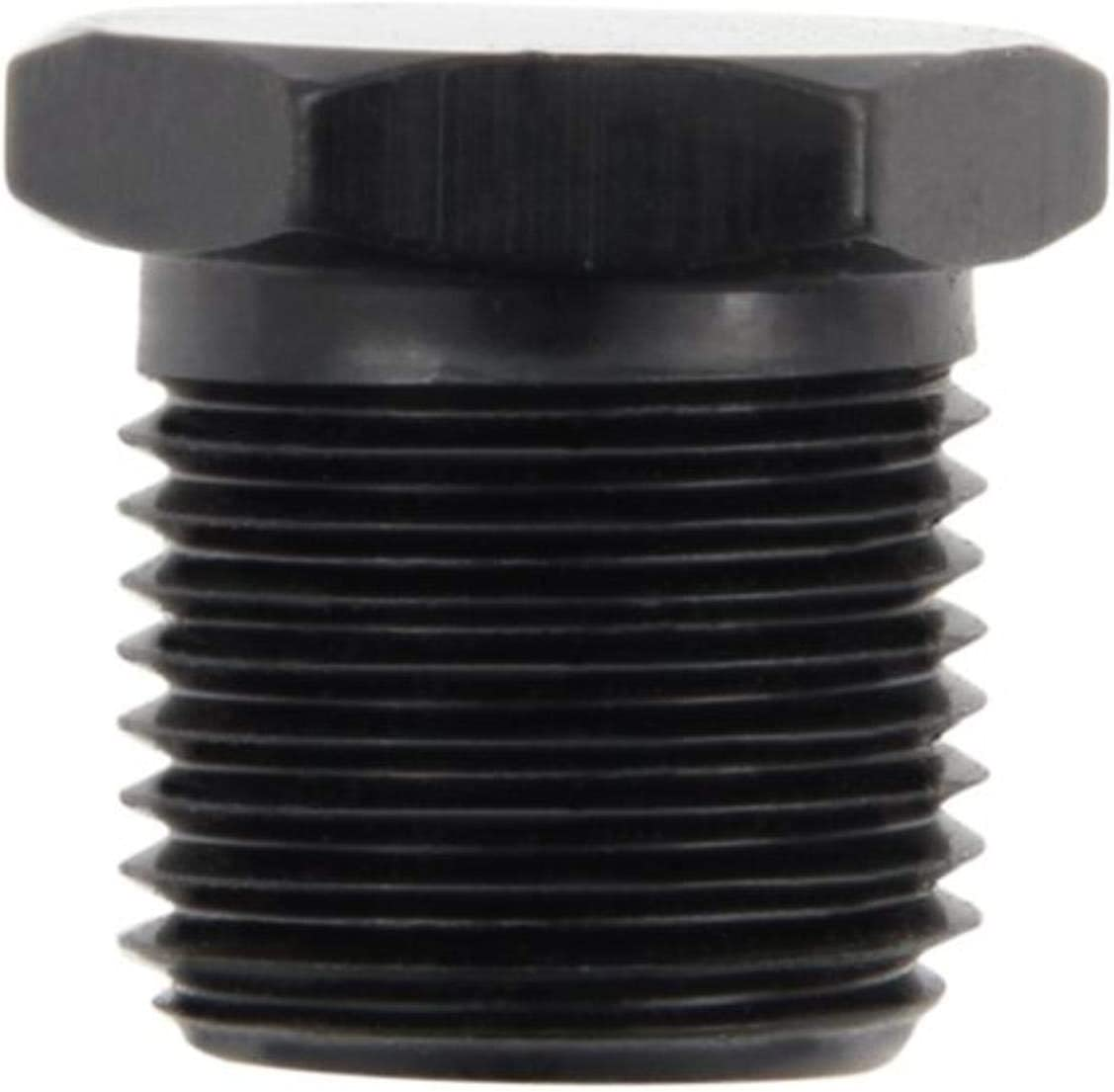 Fragola FRG493301-BL Black 1//8 MPT Hex Pipe Plug