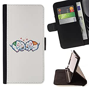 Jordan Colourful Shop - love couple relationship grey For Samsung Galaxy Core Prime - Leather Case Absorci???¡¯???€????€???????&bdquo