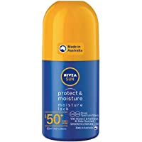 NIVEA SUN Protect & Moisture Moisturising Sunscreen Roll-On SPF50+, 65ml