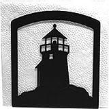 Wrought Iron Lighthouse Napkin Holder