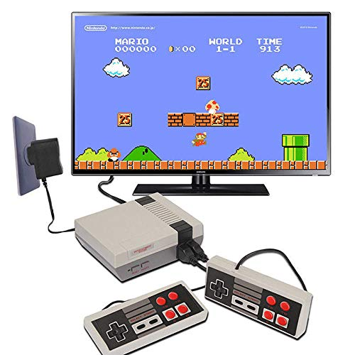 Hangyuan Mini Video Game Console Super NES Classic Games Built in 620 Games AV Out to TV for Family Recreation Dual Players 4-Button by Hangyuan (Image #2)