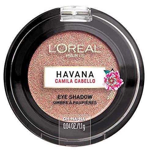 L'Oréal Paris Ombretto Cremoso Extra-pigmentato, Havana Eye Shadow Control, Havana Camila Cabello Limited Edition, Marrone L' Oréal Paris A97164