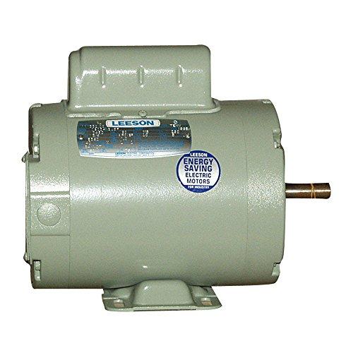 (1.5 hp 3450 RPM 56Z 115/230V Aeration Fan Motor Leeson # 111949 by Leeson)