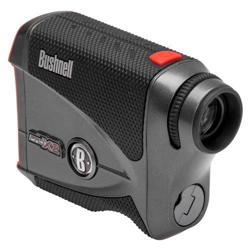 Bushnell Pro X2 Golf Laser Rangefinder | Cart Mount Bundle | Includes Golf Rangefinder (Slope & Non-Slope Function), Carrying Case, Magnetic Golf Cart Mount (Black) and One (1) CR2 Battery by PlayBetter (Image #8)
