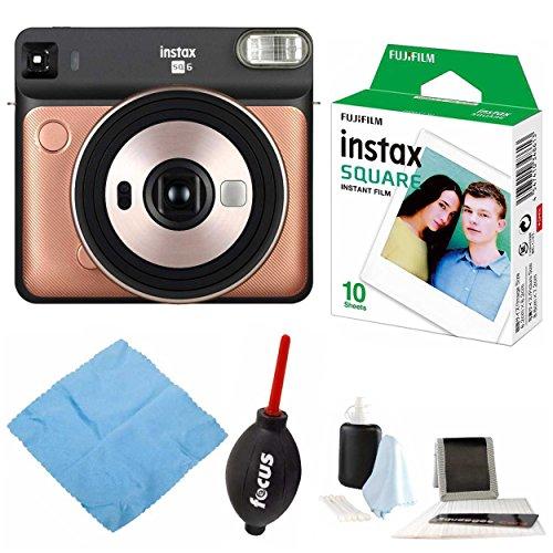 Fujifilm instax Square SQ6 Instant Camera (Bluish Gold) w/Instax Square...