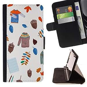 Jordan Colourful Shop - FOR Samsung Galaxy S6 - life is tough - Leather Case Absorci¨®n cubierta de la caja de alto impacto