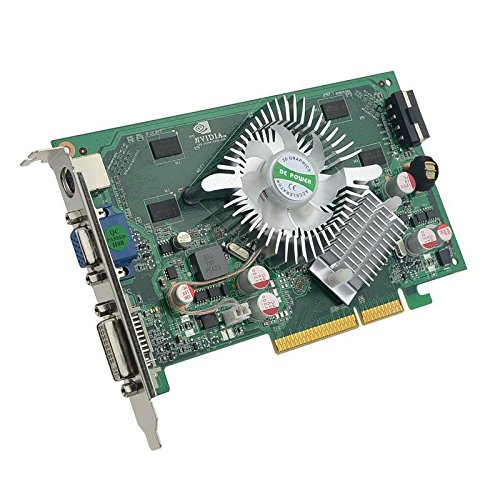 Nvidia GeForce 7600GS 7600 GS 512MB DDR2 AGP 8X TVO VGA DVI Video Card (Please Read Description) -