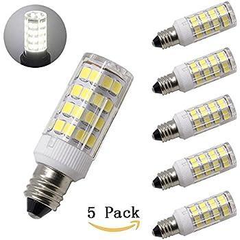 Ljy 2pcs Pack E11 4w Dimmable 80 Led Bulb Warm White