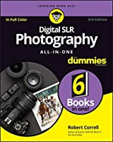 Digital SLR Photography All-in-One For Dummies, 3rd Edition Front Cover